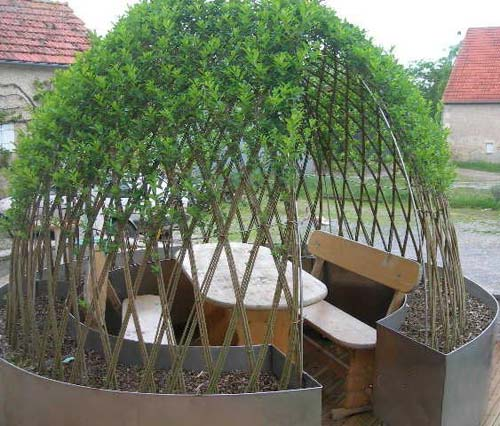 osier vivant on pinterest living willow fence sculpture. Black Bedroom Furniture Sets. Home Design Ideas